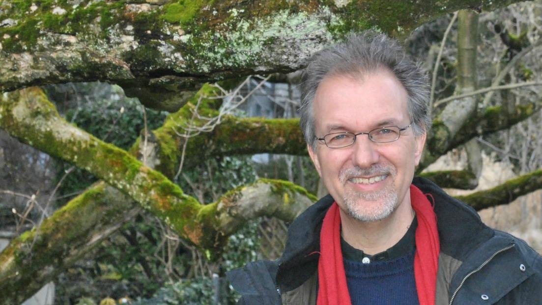 Le sociologue et théologien Michel Maxime Egger veut réconcilier l'homme avec la nature (Photo:Raphaël Zbinden)