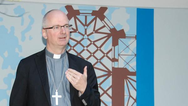 Mgr Charles Morerod, évêque de Lausanne, Genève et Fribourg (photo Jacques Berset)