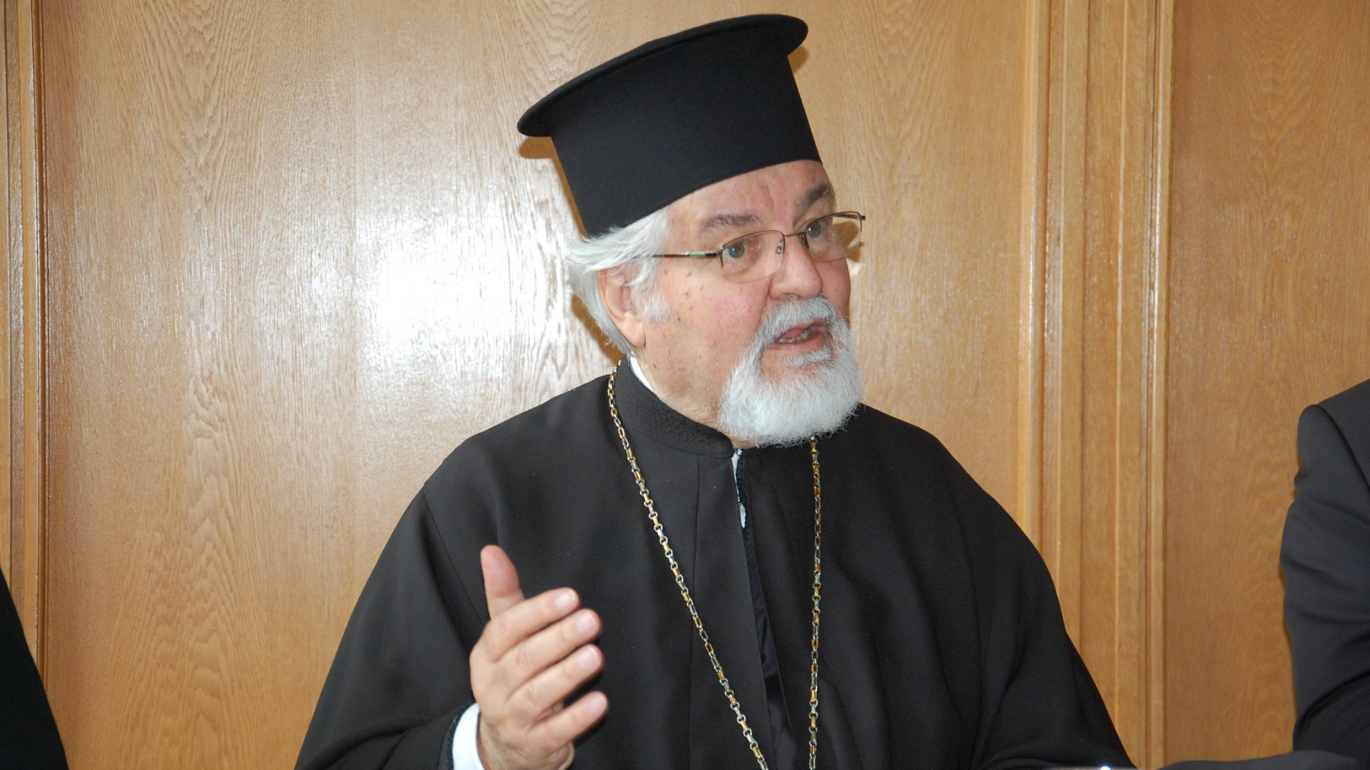 Métropolite Jérémie, directeur du Centre orthodoxe de Chambésy, à Genève  (Photo: Jacques Berset)
