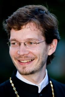 Alexandre Siniakov, recteur du séminaire orthodoxe russe en France (Photo:seminaria.fr)