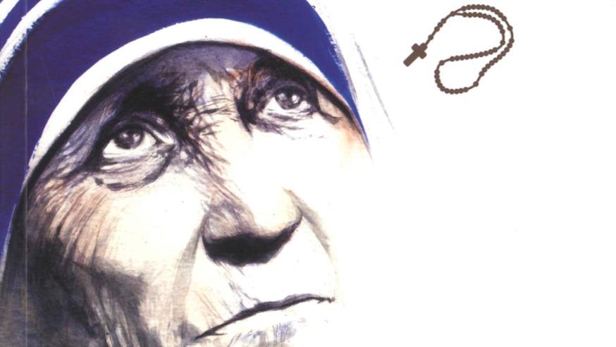 """Détail de couverture de la BD """"Mère Teresa de Calcutta"""", primé à Angoulême"""