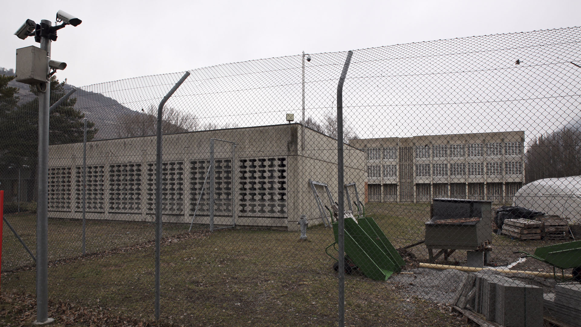 Centre éducatif fermé de Pramont, à Granges(VS). (Photo: B. Hallet)