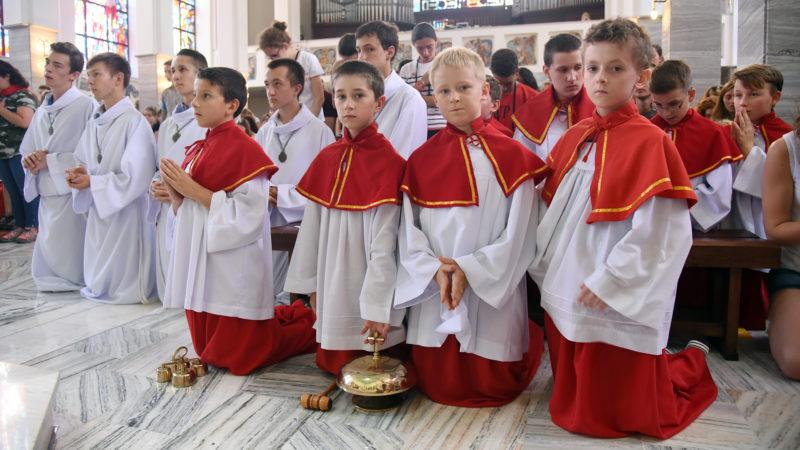 Messe des JMJ à la paroisse Saint-Wojciech à Cracovie, le 27 juillet 2016. (Photo: P.Pistoletti)