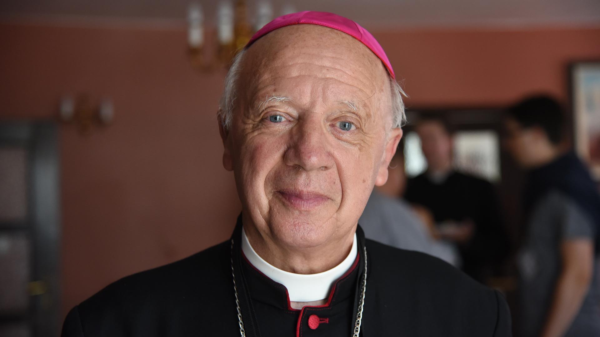 Mgr Jean-Claude Boulanger, évêque de Bayeux-Lisieux aux JMJ. (Photo: P.Pistoletti)