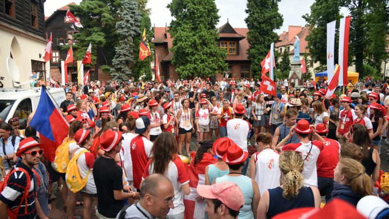 900 jeunes ont assisté à la rencontre suisse (Photo: Pierre Pistoletti)