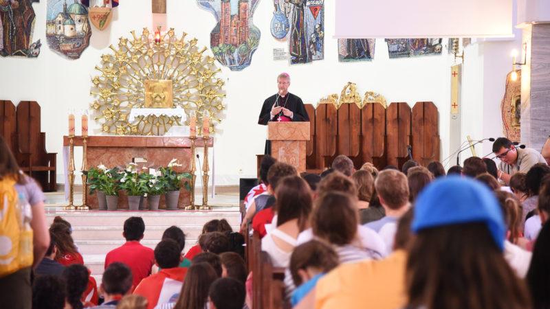 Catéchèse du 28 juillet (Photo: Pierre Pistoletti)