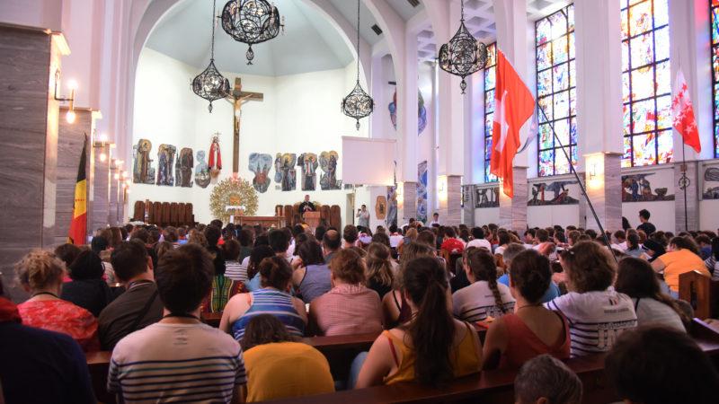 L'église de Wojciech, encore une fois pleine à craquer (Photo: Pierre Pistoletti)