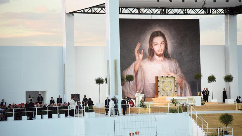 Campus Misericordiae, veillée avec le Saint-Père (Photo: Pierre Pistoletti)