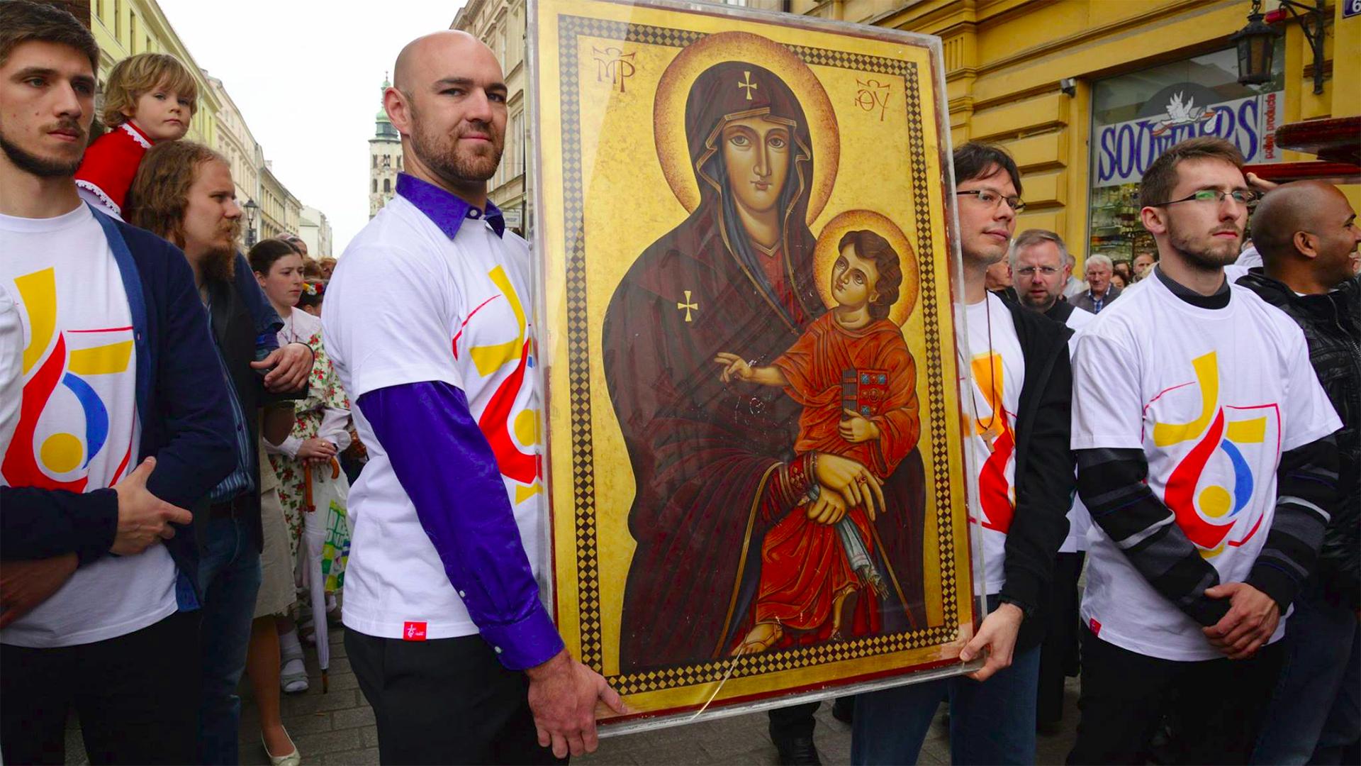 Le pape s'apprête à visiter la Pologne, le pays le plus catholique d'Europe (Photo: krakow2016.com)