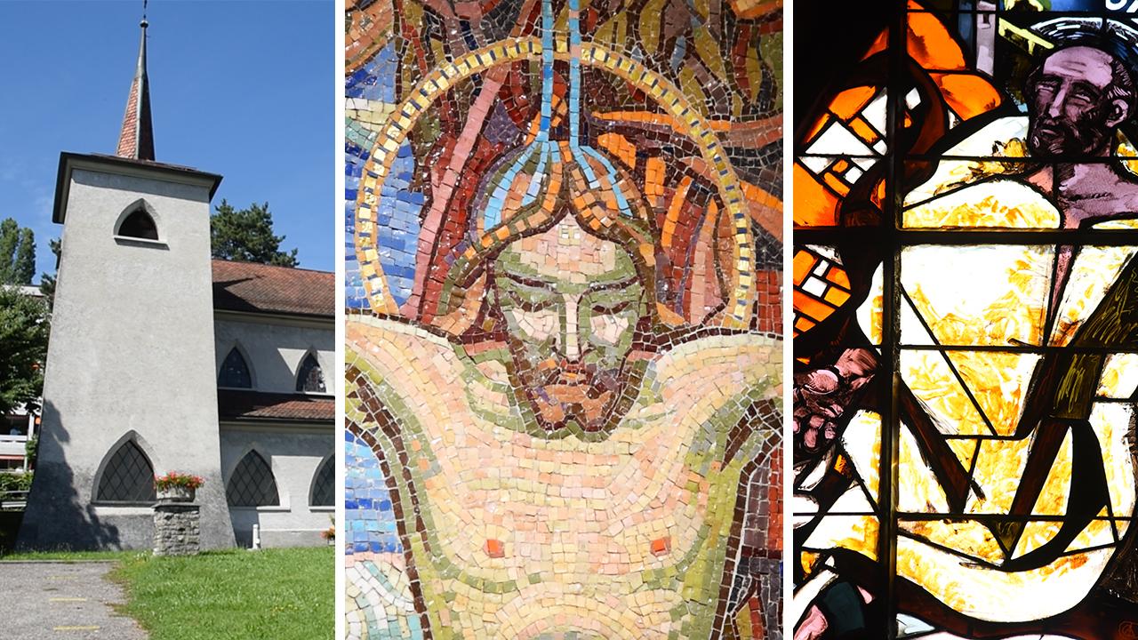 Les principales réalisations du Groupe de Saint-Luc (Photo: Pierre Pistoletti)