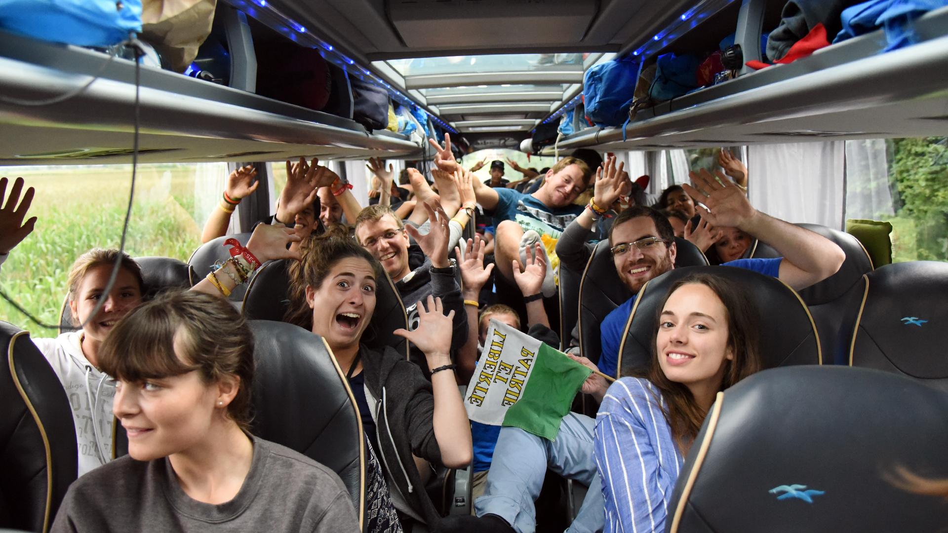 Les jeunes ont beaucoup reçu à Cracovie. Il s'agit désormais de faire mûrir le fruit de ce JMJ (Photo: Pierre Pistoletti)