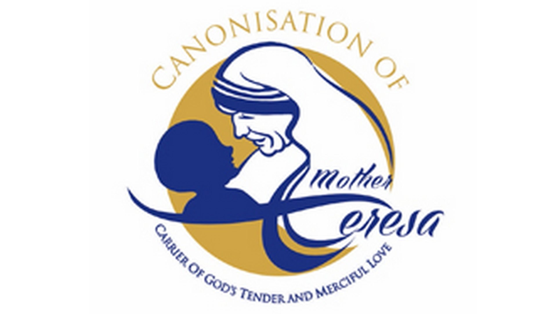 Logo de la canonisation de Mère Teresa
