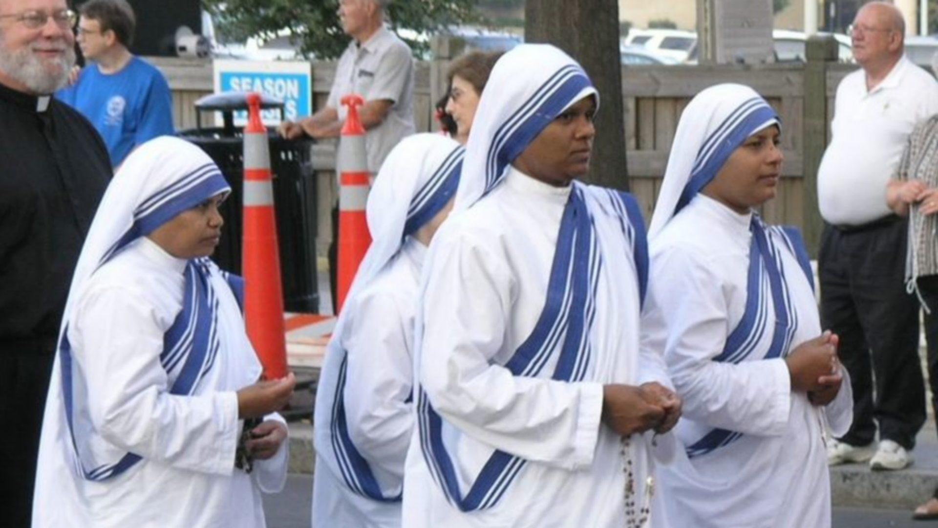 Missionnaires de la charité de Mère Teresa (photo wikimedia commons domaine public)