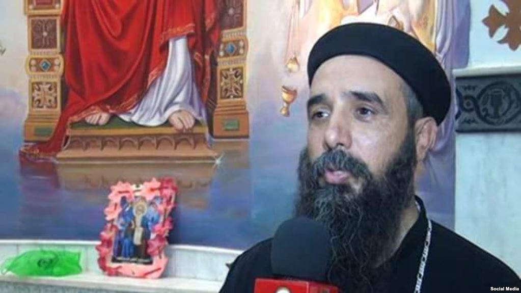 Le Caire: prêtre copte orthodoxe assassiné par un fanatique musulman Père-Samaan-Shehata-prêtre-du-diocèse-copte-orthodoxe-de-Beba-et-Al-Fashn-Photo