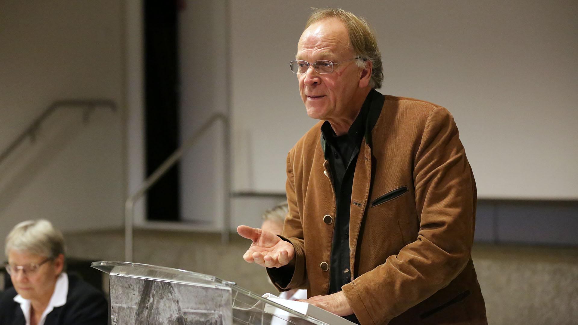 Le pasteur Virgile Rochat a salué l'engagement oecuménique de Maurice Zundel | Bernard Hallet