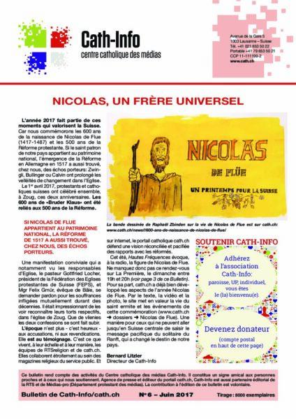 Nicolas, un frère universel