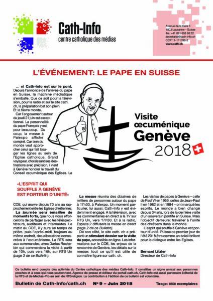L'événement: le pape en Suisse